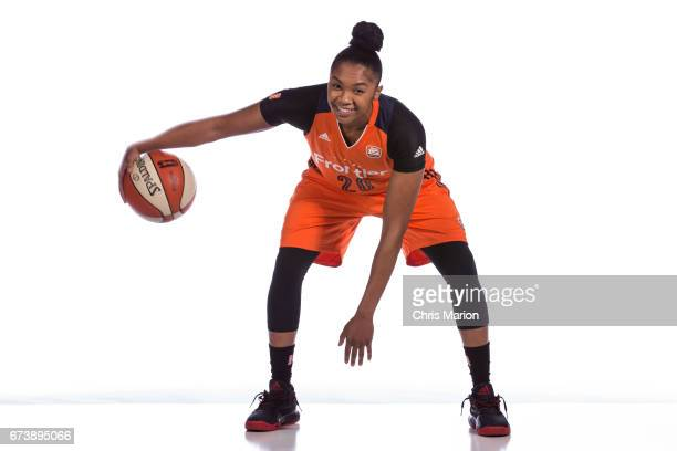 Alex Bentley of the Connecticut Sun poses for a portrait at WNBA Media Day at Mohegan Sun on April 26 2016 in Uncasville Connecticut NOTE TO USER...