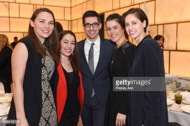 Alex Besnard Clio Ermenidis David Suffit Julia Olivier and Katharine Gutauskas attend The Fragrance Foundation The Creatives at Park Hyatt New York...