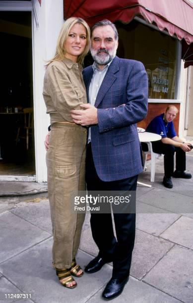 Alex Best and George Best during George Alex Best Outside TFI Studios at Riverside Studios Hammersmith in London Great Britain