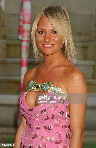 Alex Best arrives at the UK Premiere of Charlie And The Chocolate Factory at the Odeon Leicester Square on July 17 2005 in London England