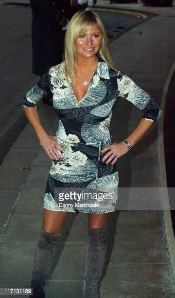Alex Best during Closer Young Heroes Awards Ceremony arrivals at The Dorchester in London Great Britain