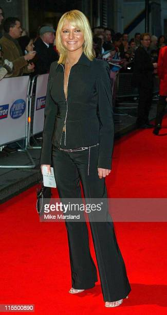 Alex Best during Daily Mirror Pride of Britain Awards 2004 at Park Lane Hilton in London Great Britain