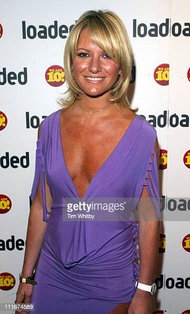 Alex Best during Loaded 10th Birthday Arrivals at Rouge in London Great Britain
