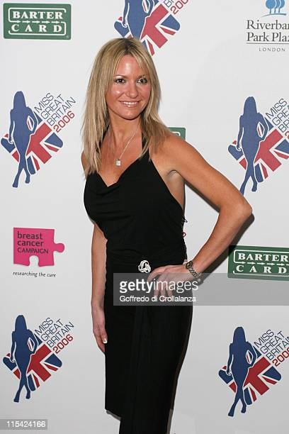 Alex Best during Miss Great Britain 2006 Finals Arrivals at Grosvenor House Hotel in London Great Britain