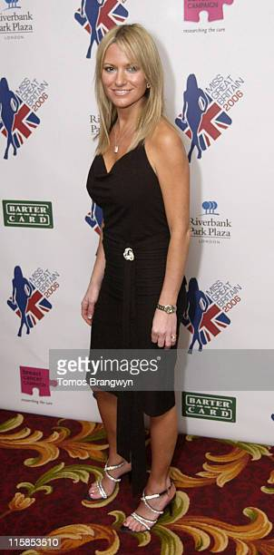 Alex Best during Miss Great Britain 2006 Finals Arrivals February 25 2006 at Grosvenor House Hotel in London Great Britain