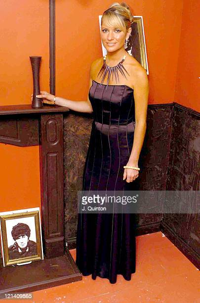 Alex Best during The 2004 Charity Chocolate Ball at Cafe Royal in London Great Britain