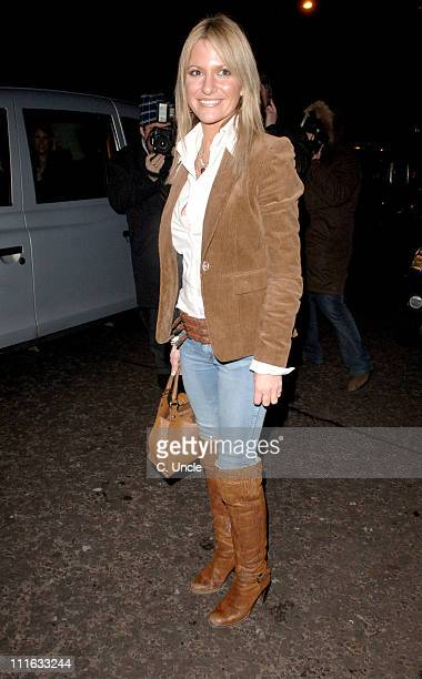 Alex Best during The BRIT Awards 2006 EMI Records After Party at Baglioni Hotel in London Great Britain