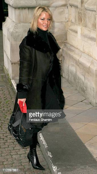 Alex Best during Woman's Own Children of Courage 2004 at Westminster Abbey in London Great Britain