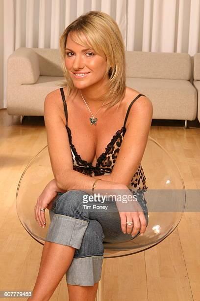 Alex Best the former wife of Northern Irish footballer George Best circa 2005
