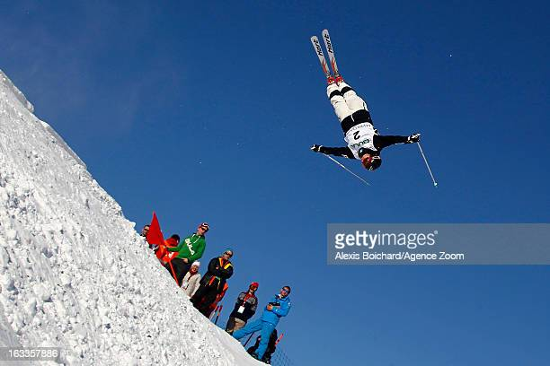 Alex Bilodeau of Canada takes 1st place during the FIS Freestyle Ski World Championship Men's and Women's Dual Moguls on March 08 2013 in Voss Norway