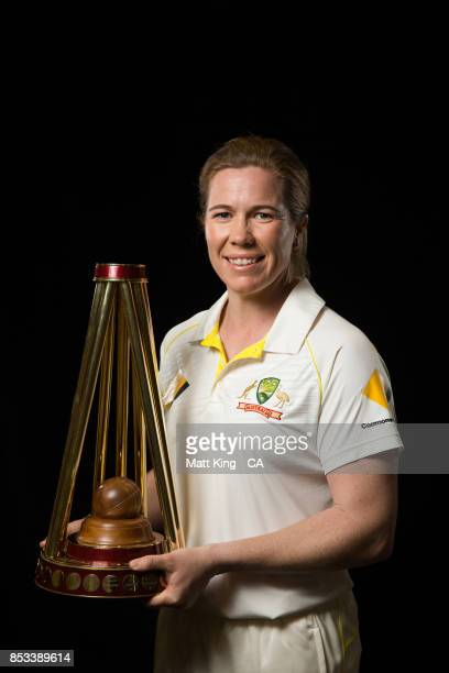 Alex Blackwell poses during a Cricket Australia Women's Player Camp at the Centre For Excellence on September 18 2017 in Brisbane Australia