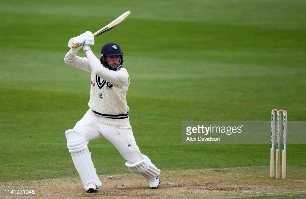 Alex Blake of Kent in action during Day 4 of the Specsavers County Championship Division One match between Somerset and Kent at The Cooper Associates...