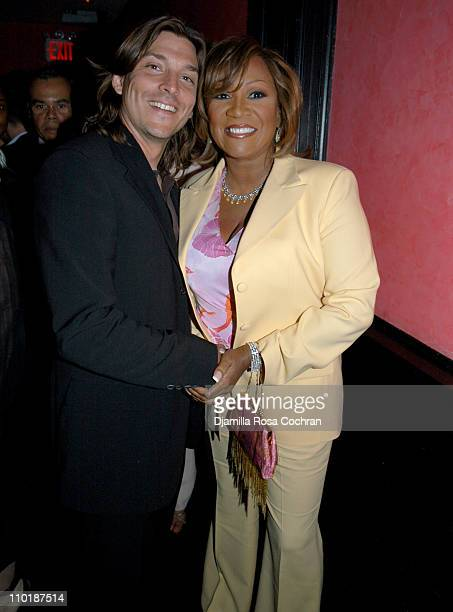 Alex Bogusky and Patti LaBelle during Patti LaBelle Performs at The 2004 International Andy Awards at Capitale in New York City New York United States