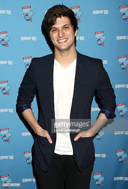 Alex Boniello attends 2016 Broadwaycom Audience Choice Awards Reception at 48 Lounge on May 10 2016 in New York City