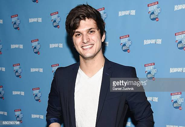 Alex Boniello attends the 17th Annual Broadwaycom AudienceChoice Awards Cocktail Reception on May 10 2016 in New York New York