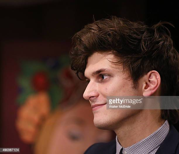 Alex Boniello attends the Broadway Opening Night After Party for 'Spring Awakening' at the Copacabana on September 27 2015 in New York City