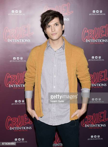 Alex Boniello attends the 'Cruel Intentions' sneak peek event at Le Poisson Rouge on November 16 2017 in New York City