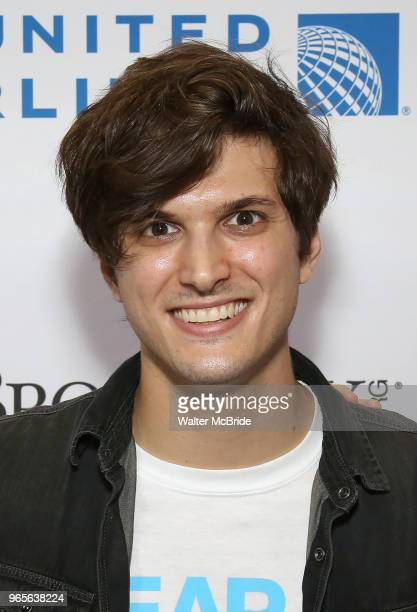 Alex Boniello attends the United Airlines Presents #StarsInTheAlley Produced By The Broadway League on June 1 2018 in New York City