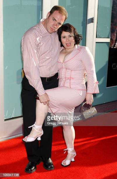 Alex Borstein and guest during Catwoman World Premiere Arrivals at Cinerama Dome in Hollywood California United States