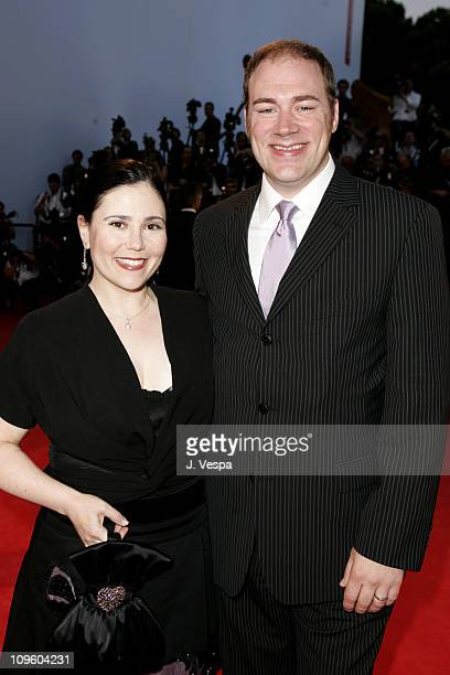 Alex Borstein and husband Jackson Douglas during 2005 Venice Film Festival 'Good Night and Good Luck' Premiere Red Carpet at Sala Grande in Venice...