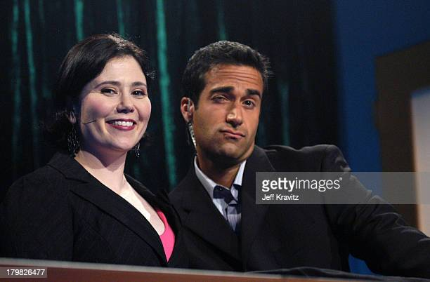 Alex Borstein and Matt Vasgersian during GSN the Network for Games Presents Celebrity Blackjack Finals at Hollywood Center Studios Stage 9 in Los...