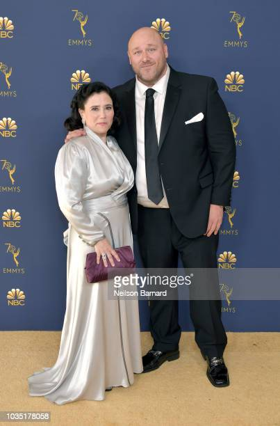 Alex Borstein and Will Sasso attend the 70th Emmy Awards at Microsoft Theater on September 17 2018 in Los Angeles California