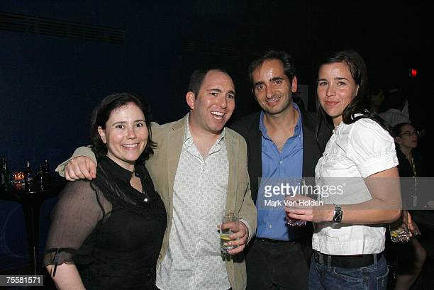 Alex Borstein Andrew Goldberg Chris Alexander and Brandy Stillwell at the Myspacecom '80s Party during the Just for Laughs Festival on July 20 in...