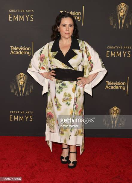 Alex Borstein attends the 2021 Creative Arts Emmys at Microsoft Theater on September 11, 2021 in Los Angeles, California.