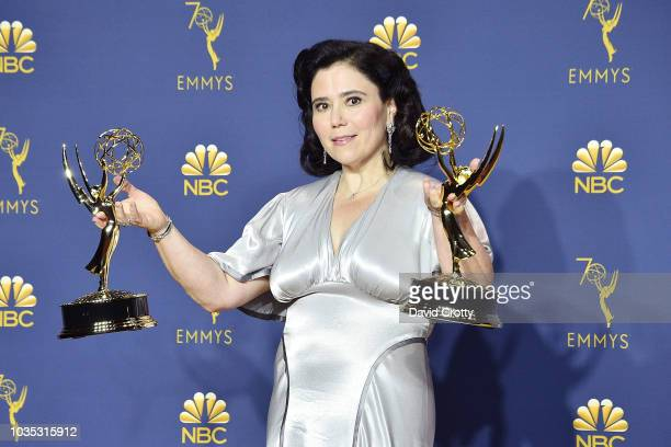 Alex Borstein attends the 70th Emmy Awards Press Room at Microsoft Theater on September 17 2018 in Los Angeles California