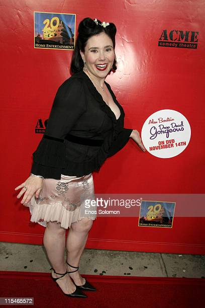 Alex Borstein during Alex Borstein's ''Drop Dead Gorgeous'' DVD Release Presented By Fox Home Entertainment at ACME Comedy Theatre in Los Angeles CA...