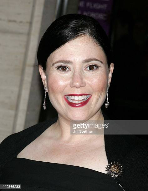 Alex Borstein during Opening Night of the 43rd Annual New York Film Festival 'Good Night and Good Luck' Premiere Arrivals at Lincoln Center in New...