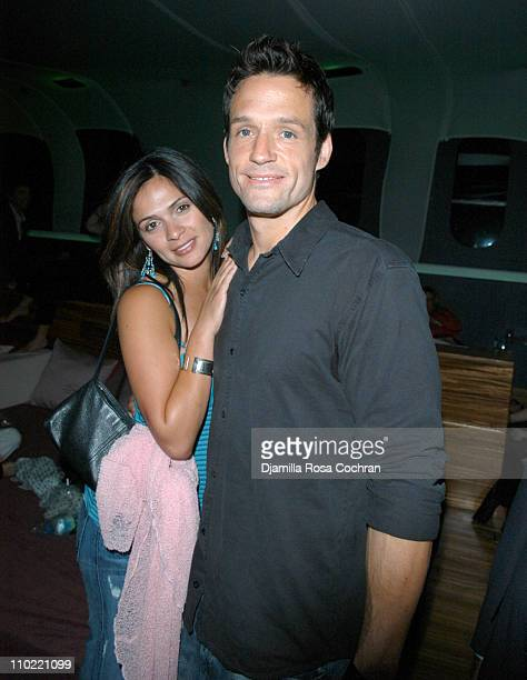Alex Botega and Josh Hopkins during The Gersh Agency and Gotham Magazine Celebrate 2005 New York UpFronts at Bed in New York City New York United...
