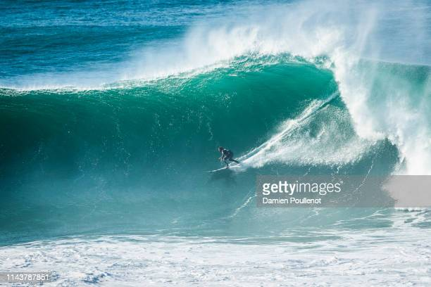 Alex Bothelo placed 1st in SemiFinal 2 at the Nazaré Challenge 2018