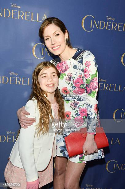 Alex Bousada and Alex Bousada attends the Toronto Special screening of Disney's 'Cinderella' held at Scotiabank Theatre on March 11 2015 in Toronto...