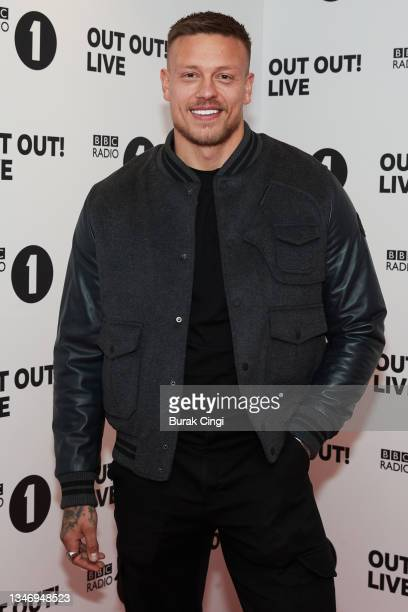 Alex Bowen attends BBC Radio 1 Out Out! Live 2021 at Wembley Arena on October 16, 2021 in London, England.