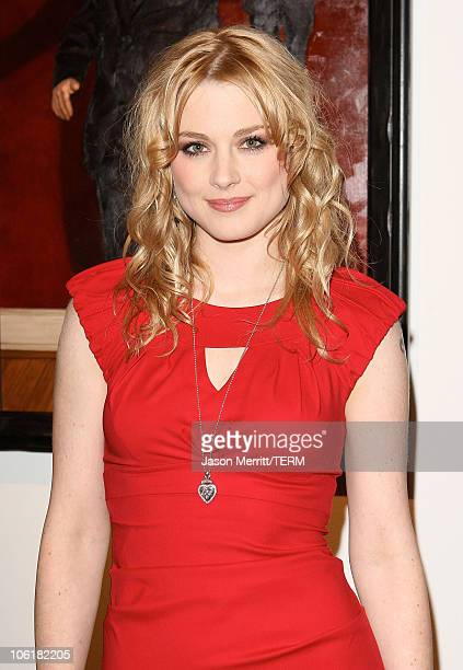 Alex Breckenridge attends the Bryten Goss 2008 Memorial Exhibition at Bergamot Station on February 21 2008 in Santa Monica California