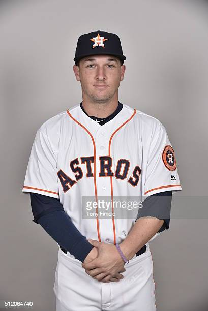 Alex Bregman of the Houston Astros poses during Photo Day on Wednesday February 24 2016 at Osceola County Stadium at Osceola Heritage Park in...