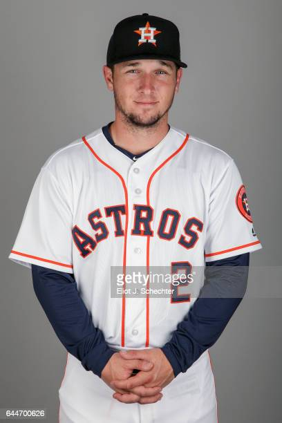 Alex Bregman of the Houston Astros poses during Photo Day on Sunday February 19 2017 at the Ballpark of the Palm Beaches in West Palm Beach Florida