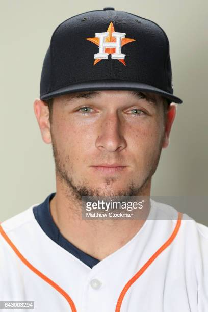 Alex Bregman of the Houston Astros poses for a portrait during Houston Astros Photo Day at The Ballpark of the Palm Beaches on February 19 2017 in...