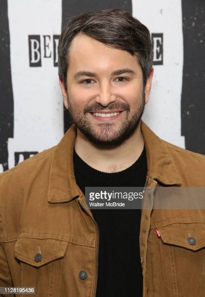Alex Brightman attends Broadway's 'Beetlejuice' First Look Photocall at Subculture on February 28 2019 in New York City