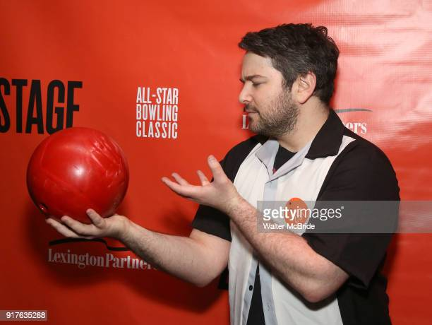 Alex Brightman attends the Second Stage Theatre 2018 Bowling Classic at Lucky Strike on February 12 2018 in New York City