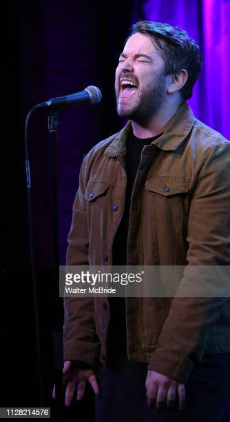 Alex Brightman during Broadway's 'Beetlejuice' First Look Presentation at Subculture on February 28 2019 in New York City