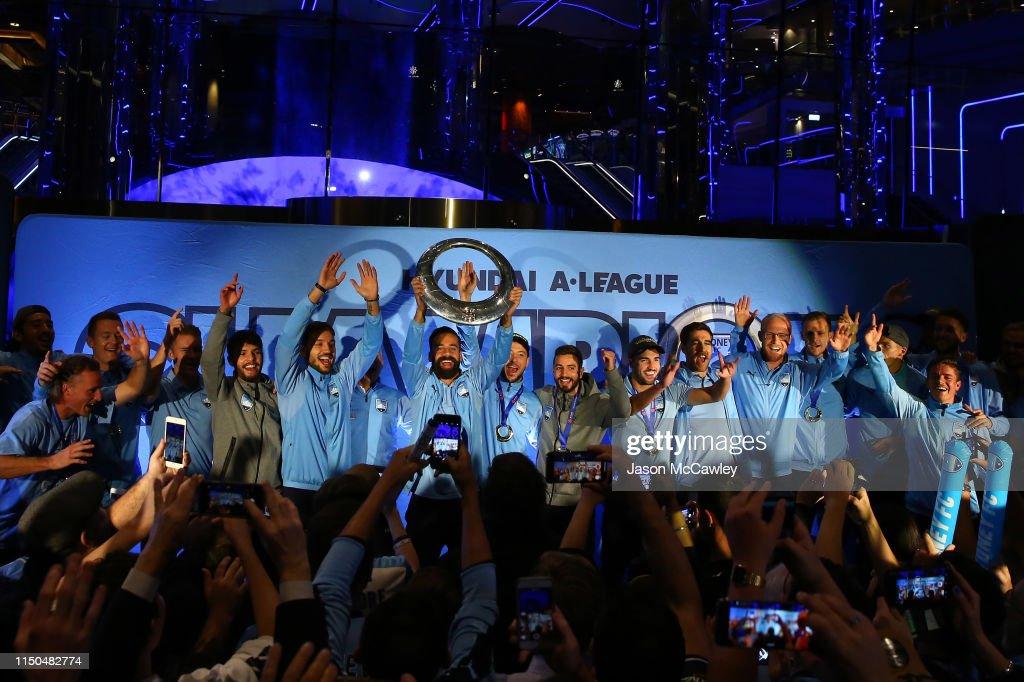 AUS: Sydney FC A-League Grand Final Celebrations