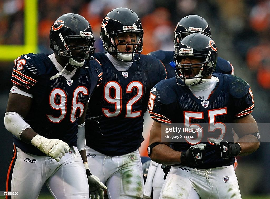 NFC Divisional Playoff: Seattle Seahawks v Chicago Bears : News Photo