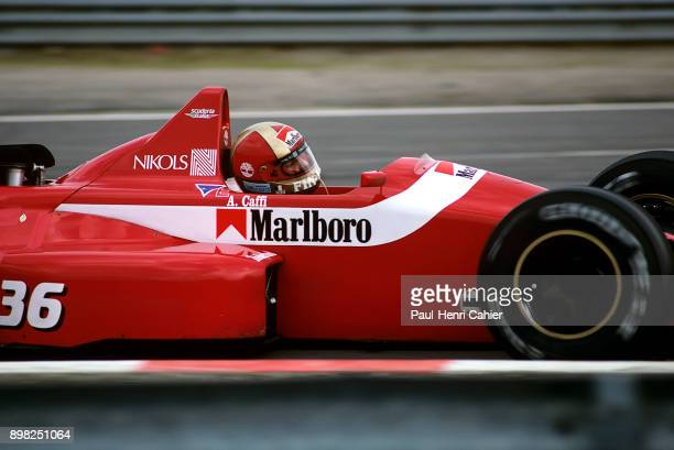 Alex Caffi DallaraFord F188 Grand Prix of Belgium Circuit de SpaFrancorchamps 28 August 1988