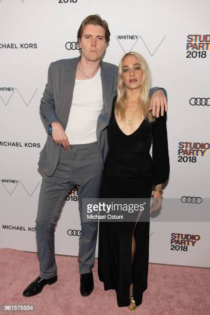 Alex Cameron and Jemima Kirke attend the Whitney Museum Celebrates The 2018 Annual Gala And Studio Party at The Whitney Museum of American Art on May...