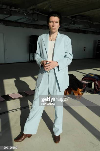 Alex Cameron attends the Sies Marjan F/W 2020 Runway Show on February 09 2020 in New York City