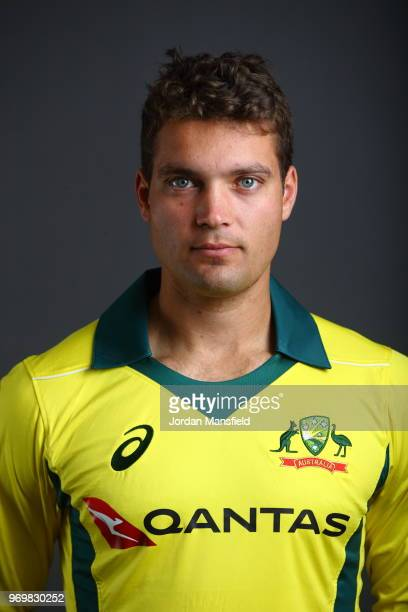 Alex Carey of Australia poses for a portrait at Lord's Cricket Ground on June 8 2018 in London England