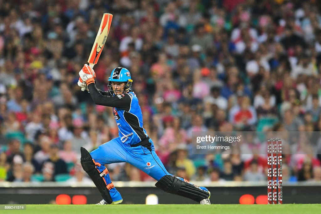 BBL - Sixers v Strikers : News Photo