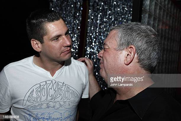 Alex Carr and Elvis Duran attend Alex Carr's birthday celebration at The Stonewall Inn on June 16 2012 in New York City